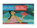 Apsara colour box ( 16 wax Crayons )