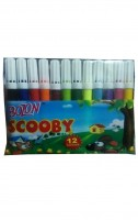 Bozon Scooby 12 Colour Pens