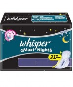 Whisper Sanitary Napkins Ultra Nights